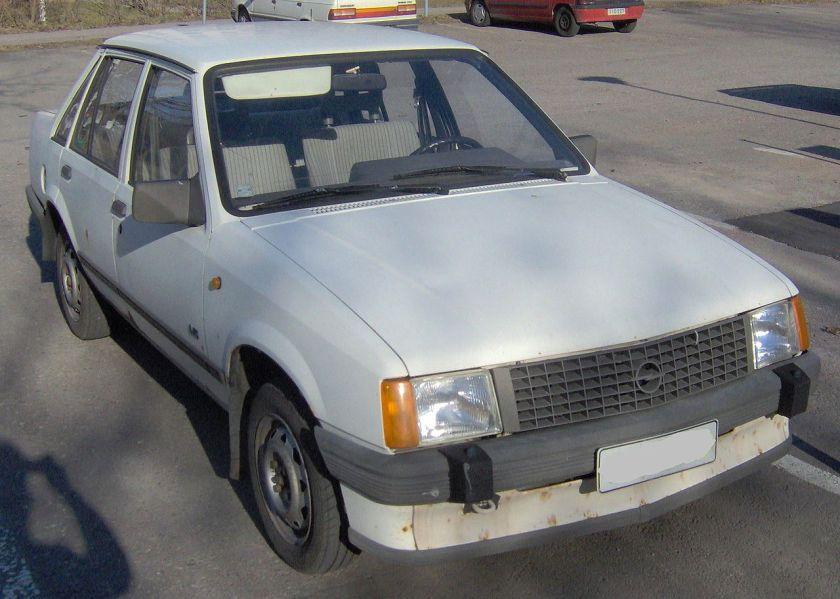 1985-87 Opel Corsa 4d 1987