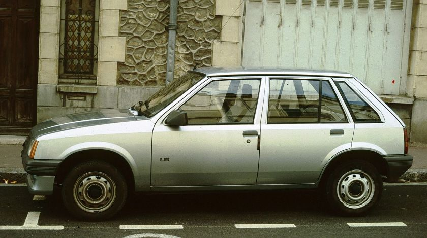 1985-90 Opel Corsa 5door hatchback