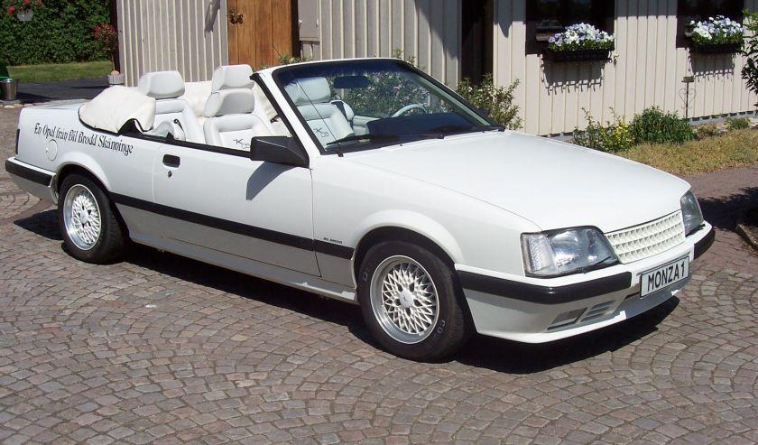 1986 Opel Monza Convertible Keinath C5