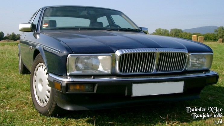 1986–94 Daimler Six Europe specification XJ40 produced