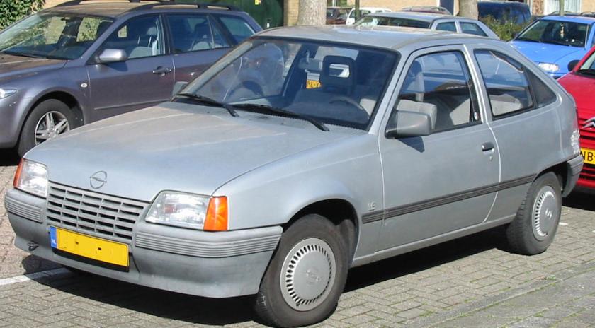 1987 Opel kadett 1,3N E Hatchback