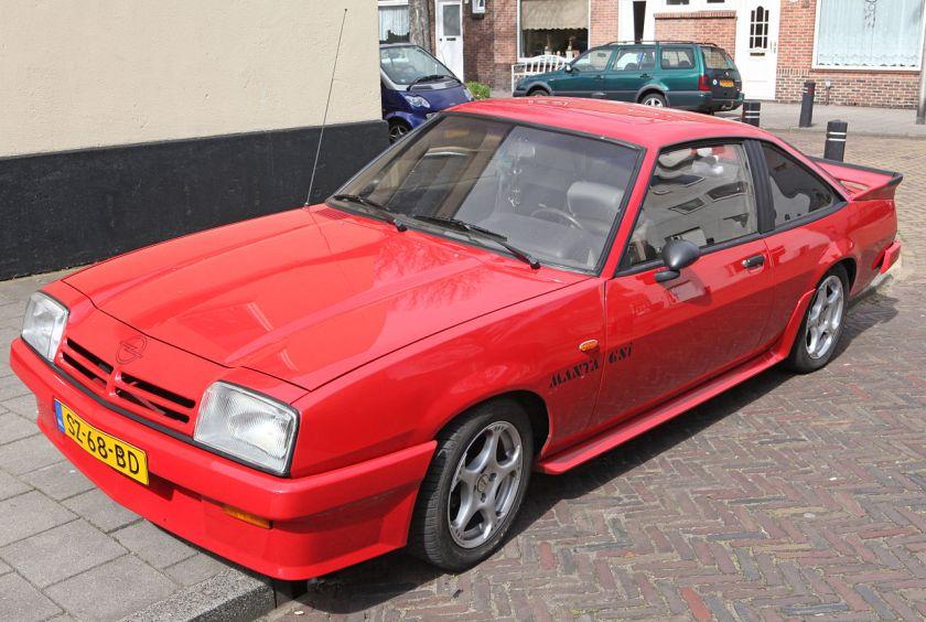 1987 Opel Manta GSI