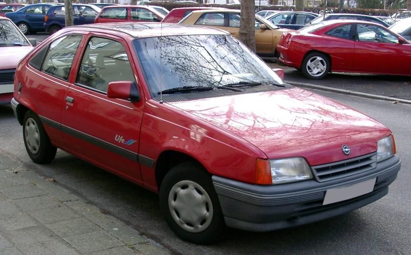 1989-91 Opel Kadett E 3d