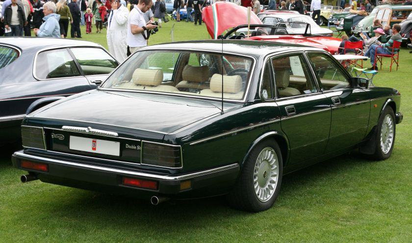 1992-94 Daimler Double Six Europe specification XJ81 produced 1992–1994