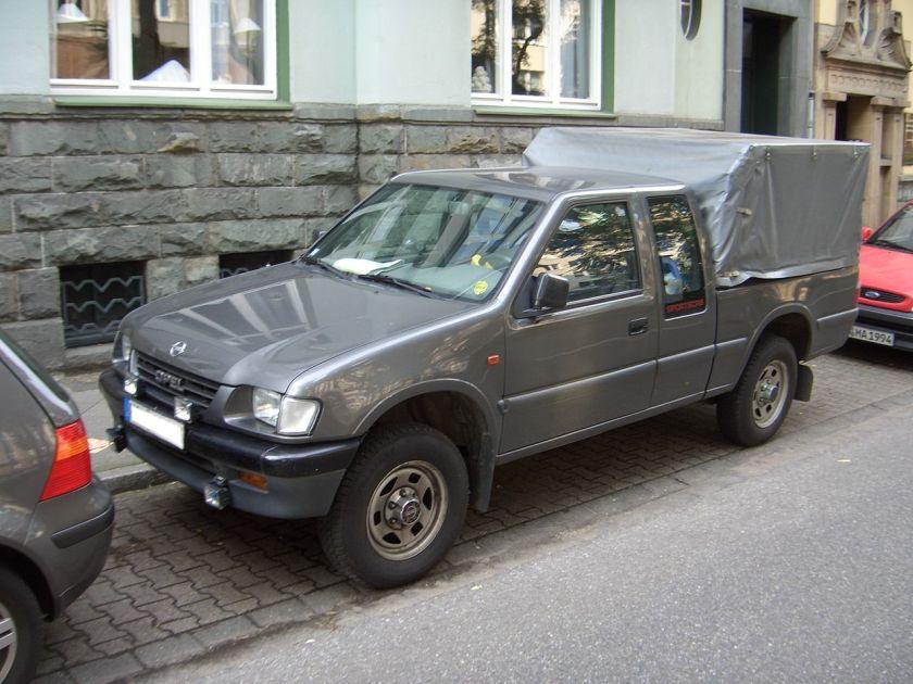 1992 Opel Campo TDS 4x4 Sportscab U