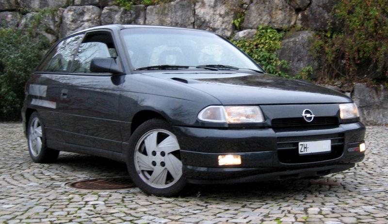 1993 Opel Astra F GSi 16V (C20XE)