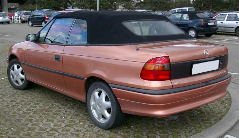 1994-00 Opel Astra F Cabrio rear