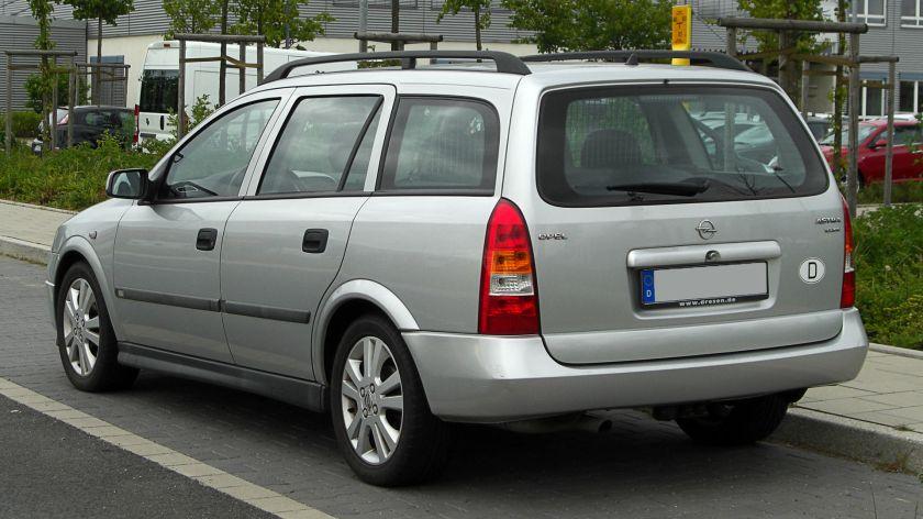 1998-02 Opel Astra Caravan 1.6 16V Selection (G)