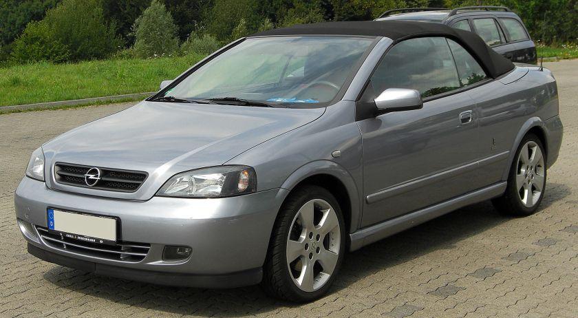 1998-02 Opel Astra G Cabriolet