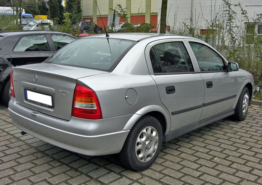 1998-02 Opel Astra G Classic rear