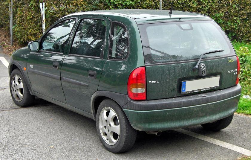 2000 Opel Corsa B 1.2 16V Edition 2000 5-Türer Facelift