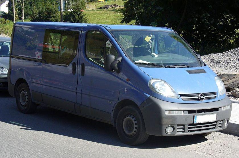 2001-06 Opel Vivaro 2900