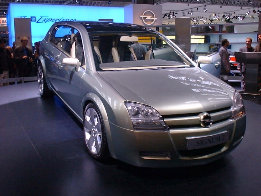 2001 Opel Signum 2 Concept