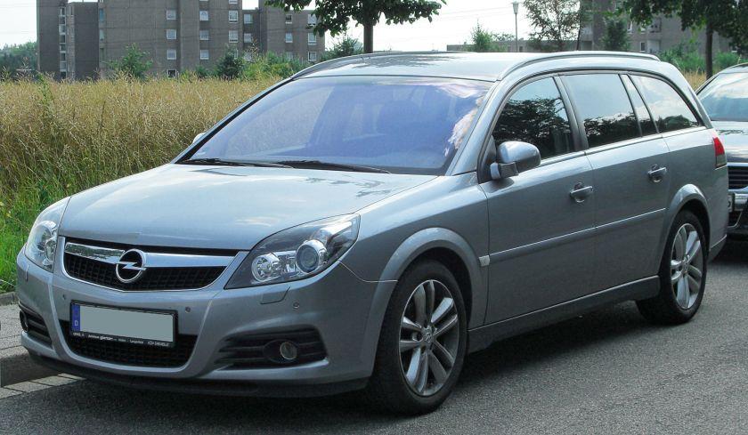 2002-08 Opel Vectra C Caravan Facelift front
