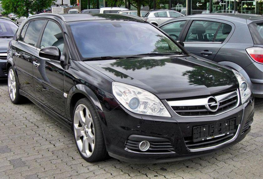 2003-08 Opel Signum Facelift