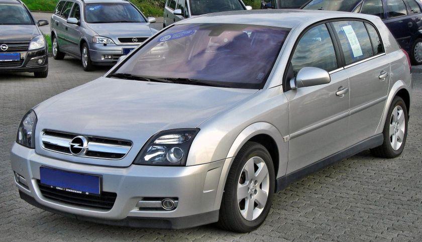 2003-2005 Opel Signum 1.9 CDTI