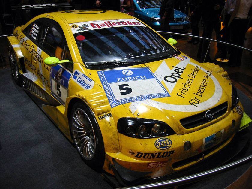 2003 Opel Astra V8 Coupe (OPC Team Phoenix, DTM 2003)