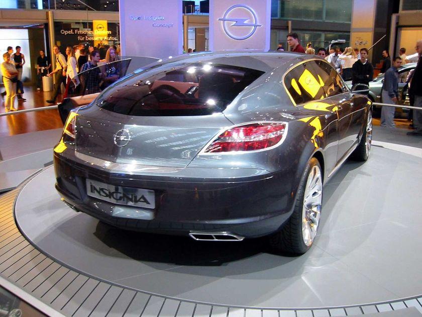 2003 Opel Insignia concept rear