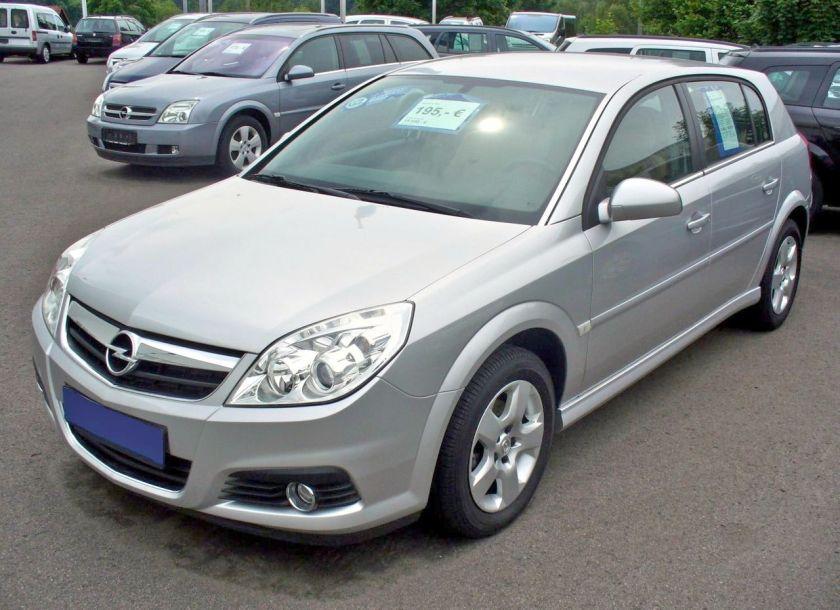 2005-08 Opel Signum 1.9 CDTI Edition Facelift Starsilber