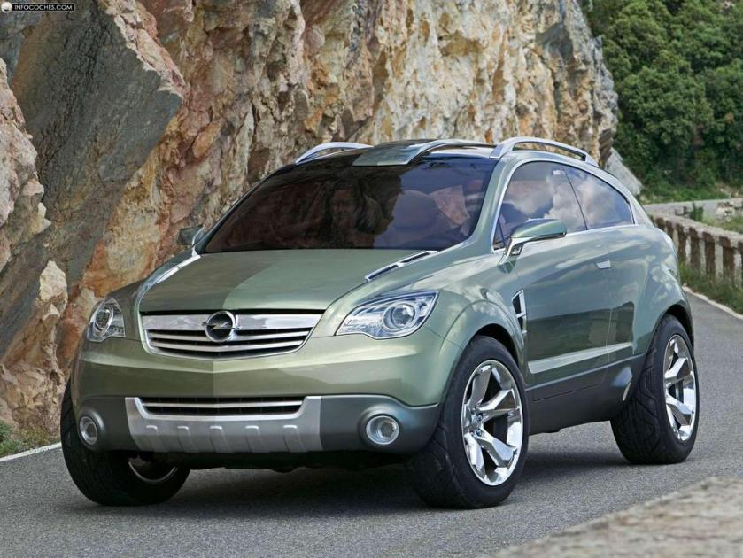 2005 Opel Antara GTC Concep, Gran Turismo Crossover