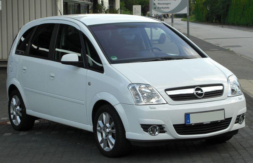 2006-09 Opel Meriva A 1.8 Cosmo