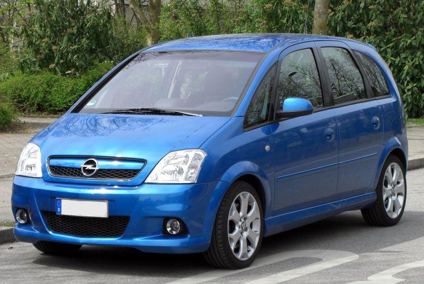 2006-09 Opel Meriva OPC Facelift