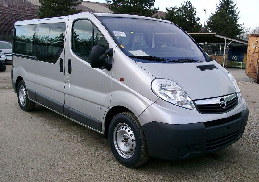 2006-14 Opel Vivaro