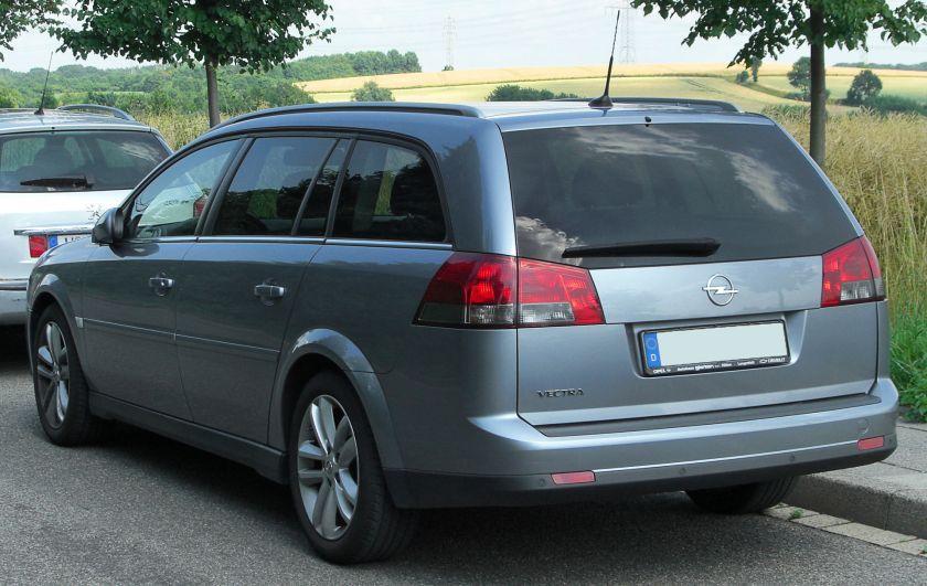 2006–09 Opel Vectra C (facelift) Caravan