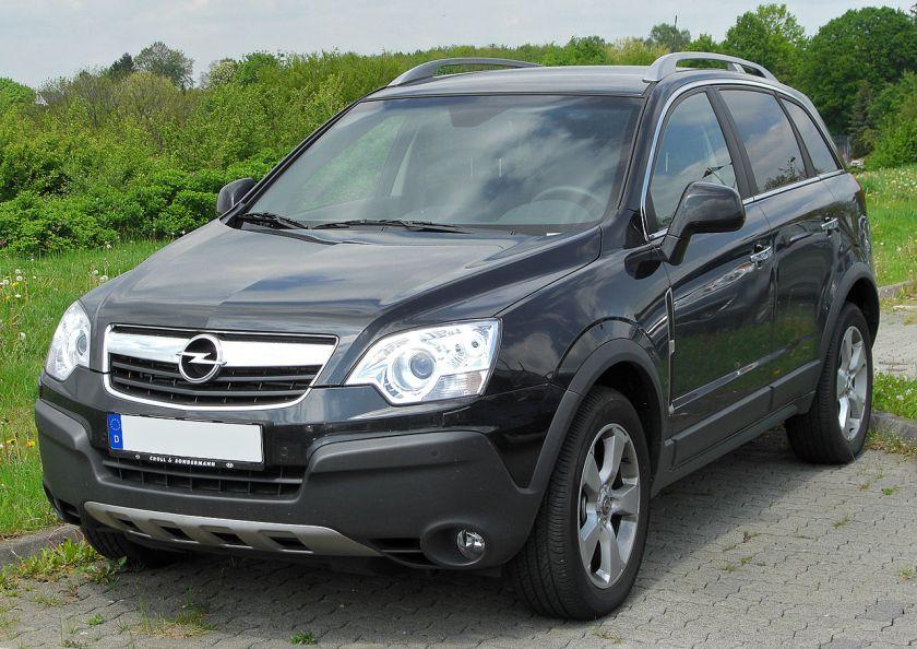 2006–present Opel Antara 2.0 CDTI