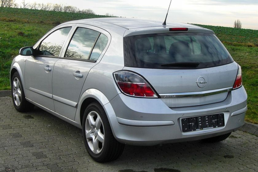 2007-09 Opel Astra H (Facelift)rear MJ