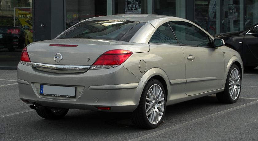 2007-10 Opel Astra TwinTop (H, Facelift)