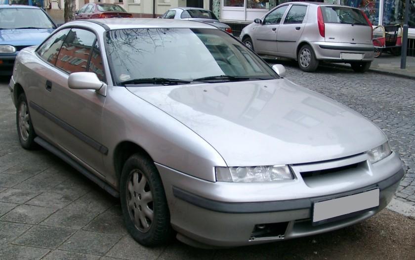 2007 Opel Calibra front