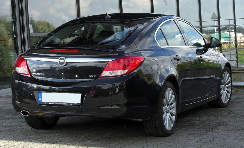 2008-13 Opel Insignia hatchback