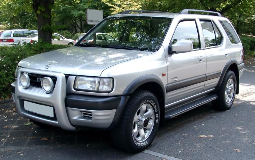 2008 Opel Frontera