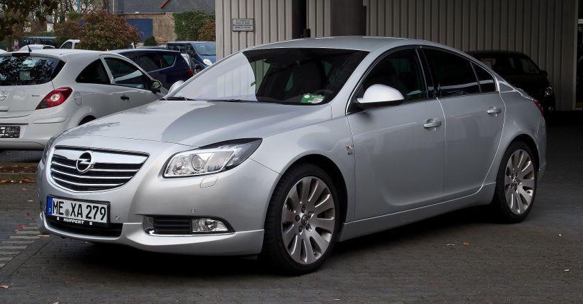 2008 Opel Insignia 2.0 BiTurbo CDTI Sport OPC Line-Paket