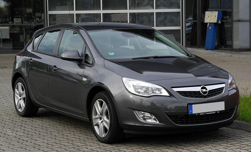 2009- ..Opel Astra (J)