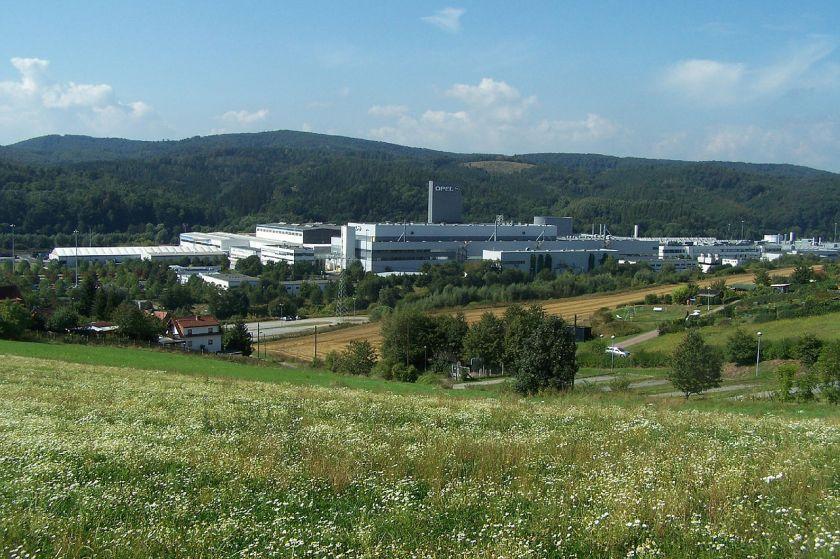 2009 OPEL Eisenach Gesamtansicht