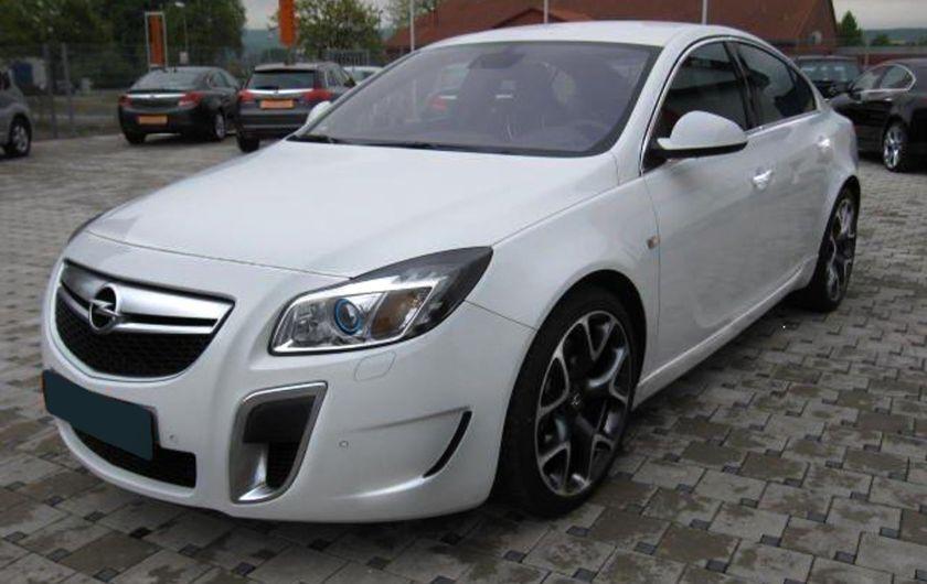 2009 Opel Insignia 4T OPC
