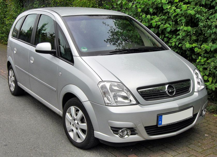 2009 Opel Meriva Facelift