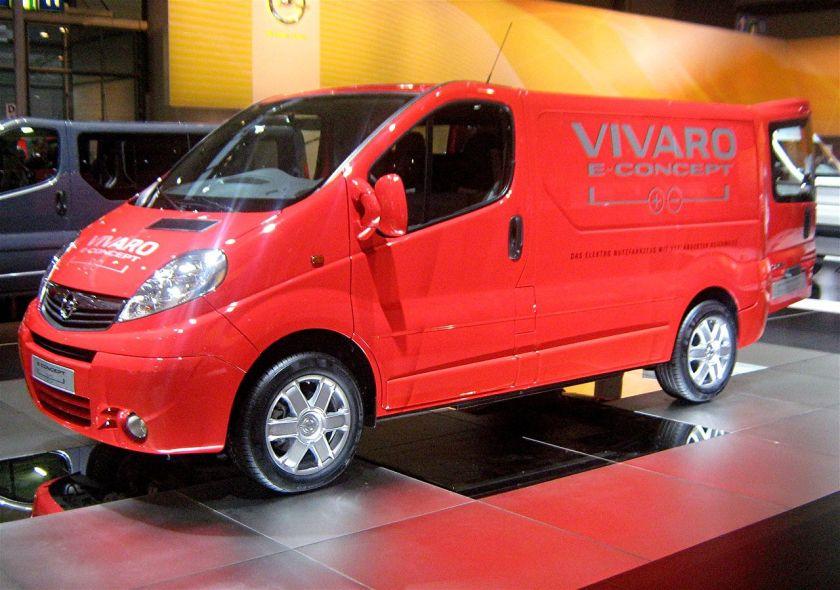 2009 Opel Vivaro E Concept