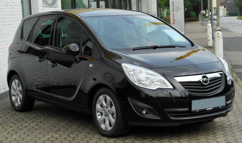 2010 Opel Meriva B 1.3 CDTI Edition