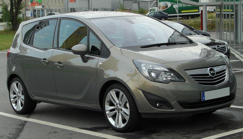 2010 Opel Meriva B S 400