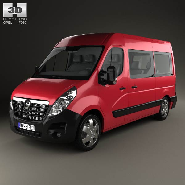 2010 Opel Movano Mk2 Passenger Van