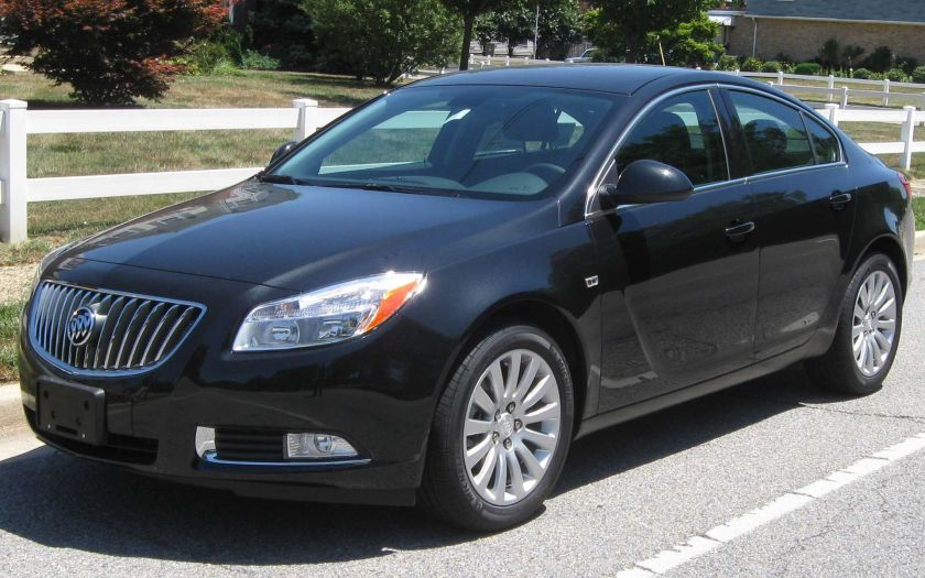 2011 Buick Regal CXL 1