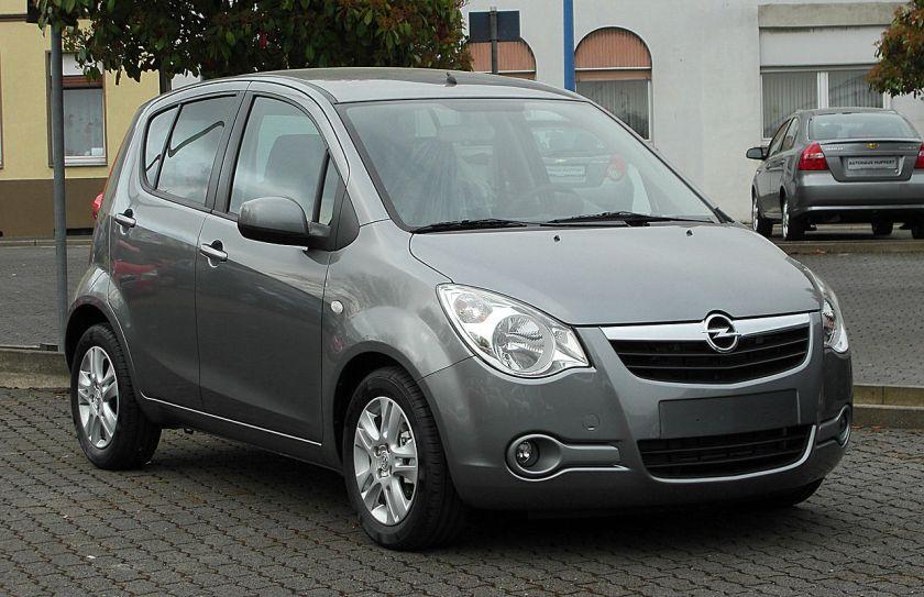 2011 Opel Agila 1.2 ecoFLEX Edition (B)