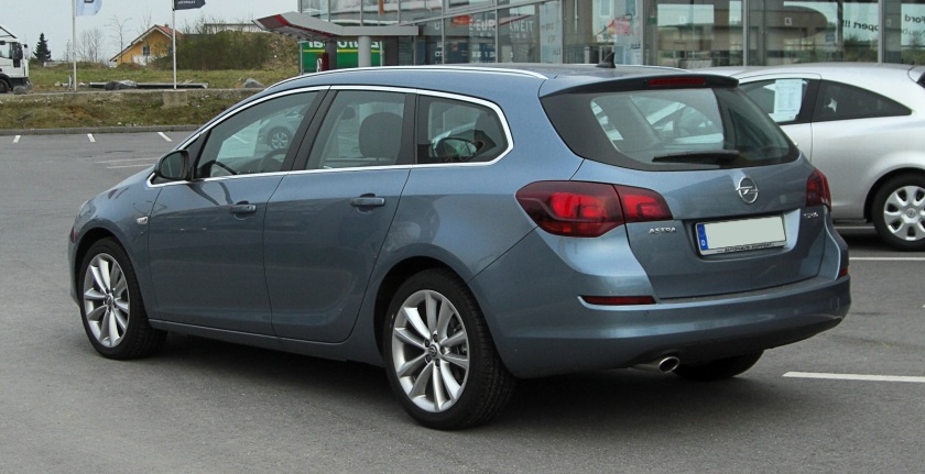 2011 Opel Astra Sports Tourer 1.4 Turbo ECOTEC (J)