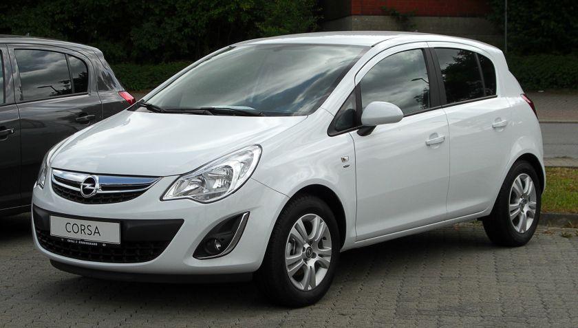2011 Opel Corsa 1.2 ecoFLEX Satellite (D, Facelift)