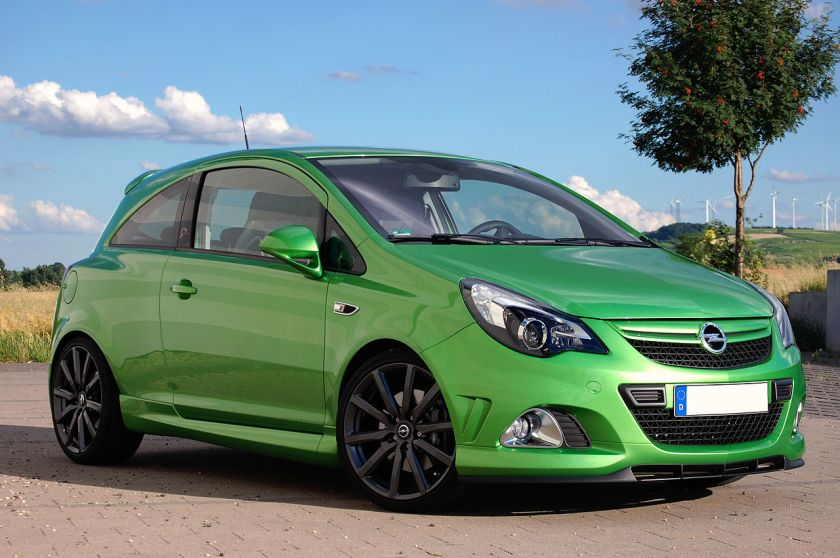 2011 Opel Corsa OPC Nürburgring Edition