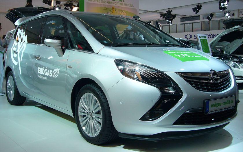 2011–present Opel Zafira Tourer C CNG