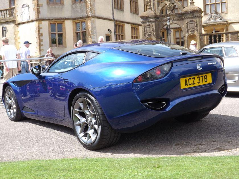 2012 AC 378 GT Zagato rear